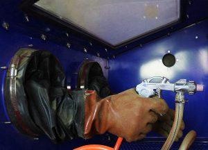 test cabine de sablage MaxBlast